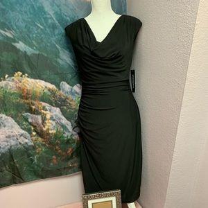 Sharagano black new dress